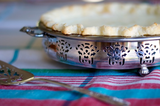 Sour Cream Lemon Pie - A Pat & A Pinch