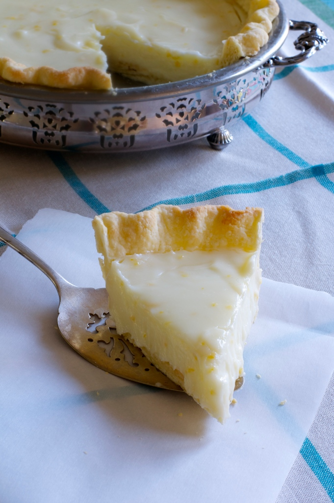 Sour Cream Lemon Pie - A Pat & A Pinch