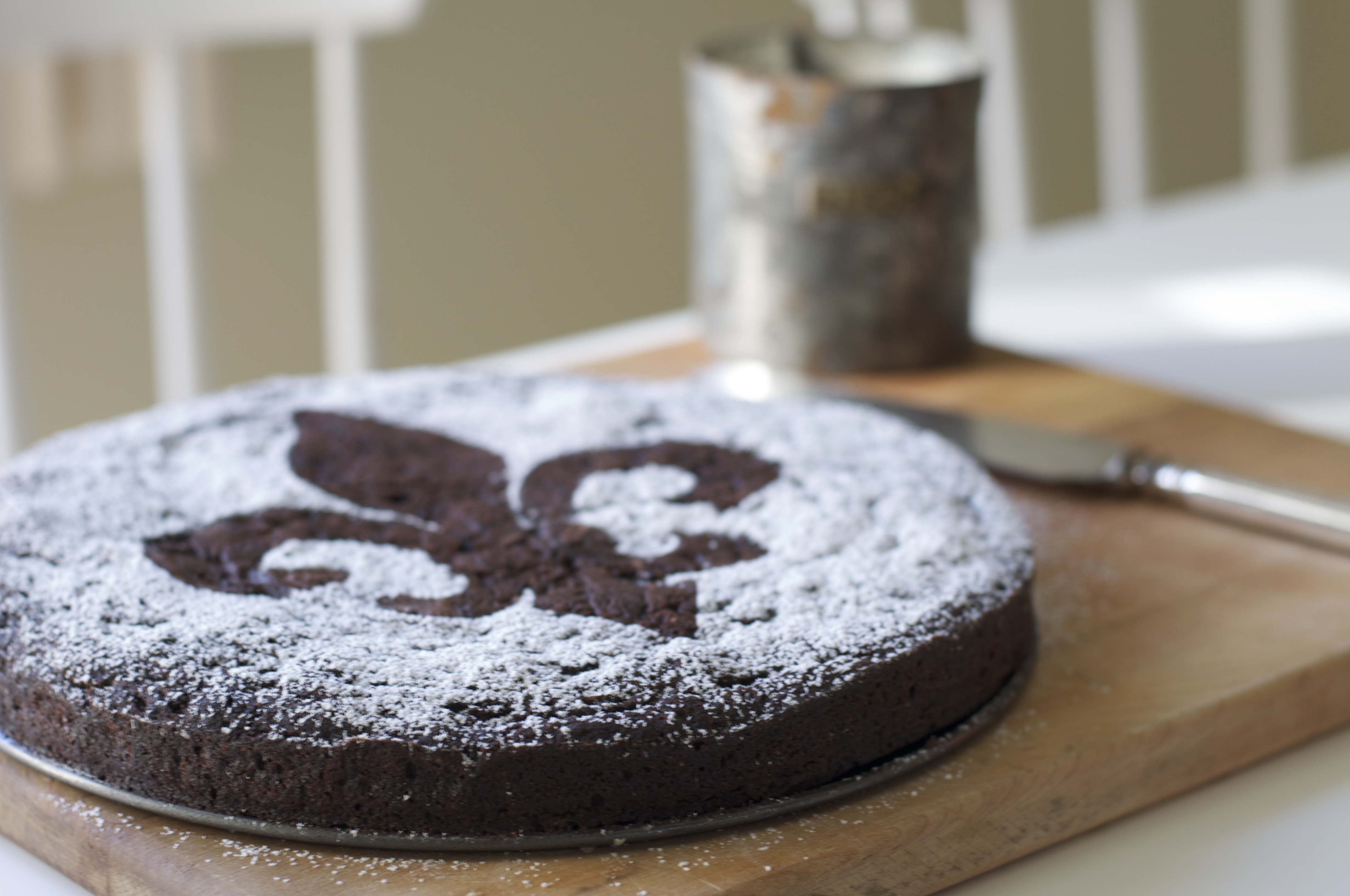 Suzanne's Flourless Chocolate Cake | A Pat & A Pinch
