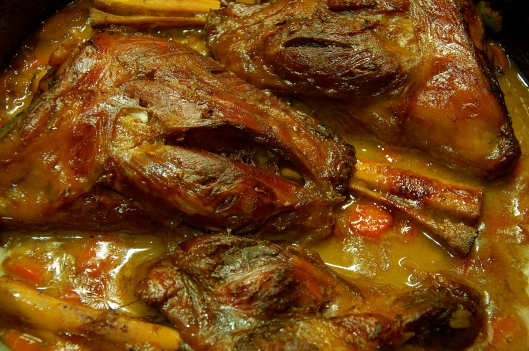 A Pat & A Pinch - Moroccan Spiced Lamb Shank