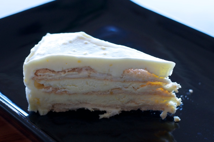 Frozen Lemon Meringue Torte - A Pat & A Pinch