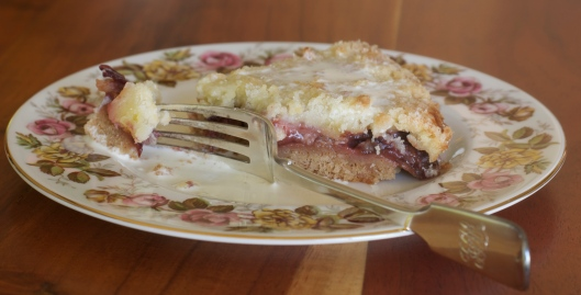 Bottom Crust Plum Crumble - A Pat & A Pinch