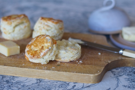 Herbed Gruyere and Buttermilk Scones - A Pat & A Pinch