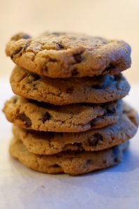 Sea Salted Chocolate Chip Cookies - A Pat & A Pinch