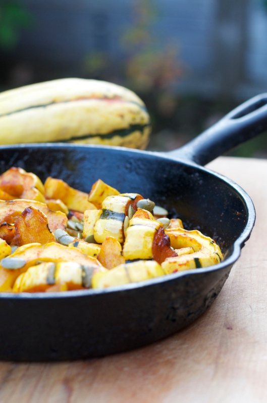 A Pat & A Pinch - Winter Squash with Pepitas