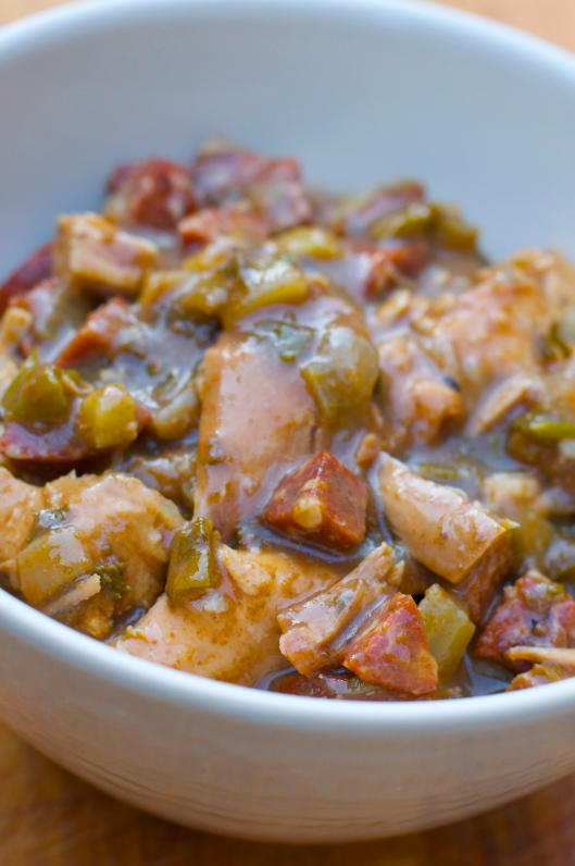 A Pat & A Pinch - Turkey Andouille Gumbo