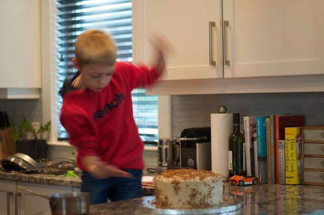 Mocha Cake - A Pat & A Pinch